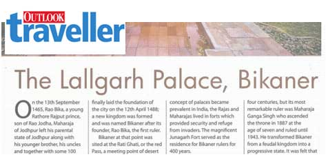 Outlook Traveller Nov 2013