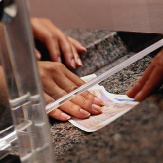 Money Changing Counter