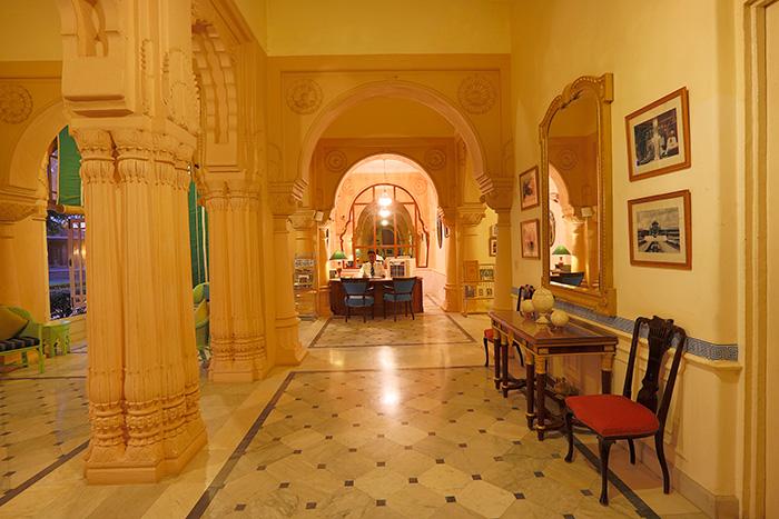 Reeption lobby